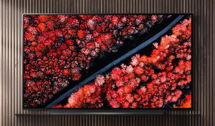 The LG OLED65C9.