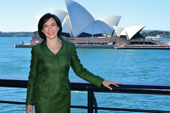 Tauck president Jennifer Tombaugh in Sydney, Australia