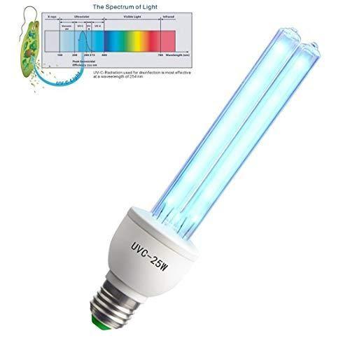 XBOCMY Germicidal UV Light Bulb